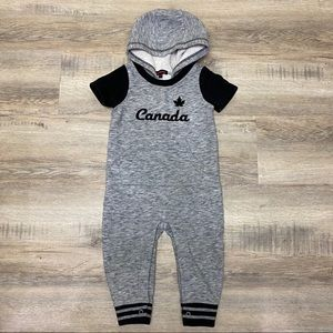 Other - Canada Hooded Romper